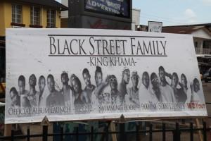 black street poster