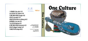 ONE CULTURE CD COVER