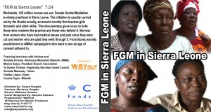 Cover for FGM Sierra Leone